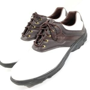 Footjoy Greenjoy Golf Shoes sz14m 45587 Soft Spike